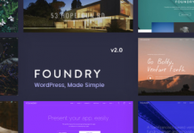 Foundry v2.1.9 - Multipurpose, Multi-Concept WP Theme