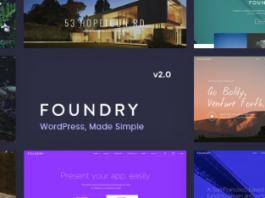 Foundry v2.1.9 - Multipurpose, Multi-Concept WP Theme