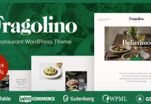 Fragolino v1.0.2 - an Exquisite Restaurant WordPress Theme