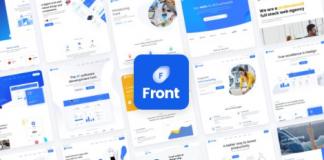 Front v1.1.0 - Multipurpose Business WordPress Theme