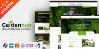 Garden HUB v1.2.4 - Lawn & Landscaping WordPress Theme