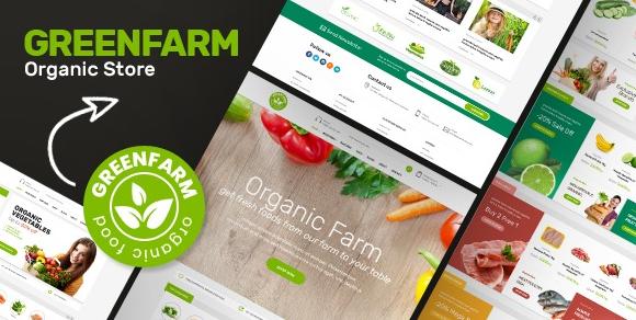 Greenfarm v1.1.0 - Organic Theme for WooCommerce WordPress