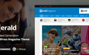Herald v2.3 - News Portal & Magazine WordPress Theme