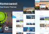 HomeSweet v1.6 - Real Estate WordPress Theme