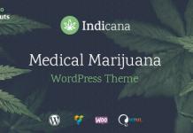 Indicana v1.4.3 - Medical Marijuana Dispensary WordPress Theme