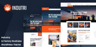 Indutri v1.0.1 – Factory & Industrial WordPress Theme