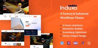 Induxo v1.6 - Industry WordPress Theme