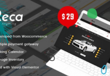 Ireca v1.2.8 - Car Rental Boat, Bike, Vehicle, Calendar WordPress Theme