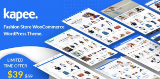 Kapee v1.3.5 - Fashion Store WooCommerce Theme Nulled