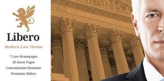 Libero v2.0 - Lawyer and Law Firm WordPress Theme