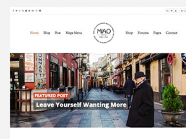 Miao v1.1.2 - Fashion Magazine, News & Blog WordPress Theme