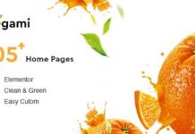 Ogami v1.25 - Organic Store & Bakery WordPress Theme
