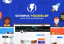 Olympus v3.6 - Powerful BuddyPress Theme for Social Networking