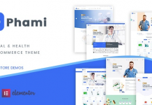 Phami v1.0.4 - Medical & Health WooCommerce Theme