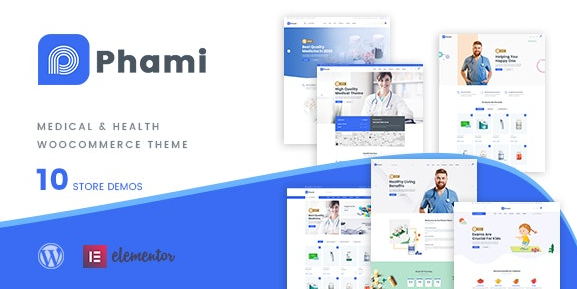 Phami v1.0.4 - Medical & Health WooCommerce Theme
