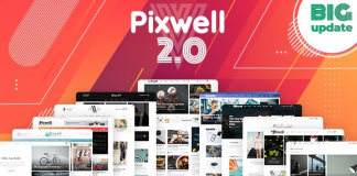 Pixwell v5.6 - Modern Magazine WordPress Theme