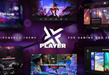 PlayerX v1.8 - A High-powered Theme for Gaming and eSports