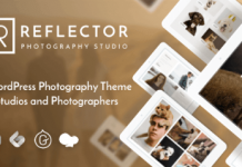 Reflector v1.1.5 - Studio Photography WordPress Theme