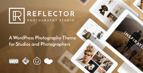 Reflector v1.1.5 - Studio Photography WordPress Theme