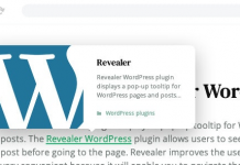 Revealer v2.0.2 - Navigation Popup for WordPress Links