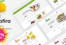 Safira v1.0.2 - Food & Organic WooCommerce WordPress Theme