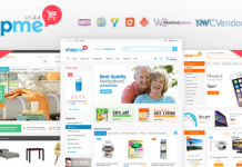 ShopMe v1.5.5 - Multi Vendor Woocommerce WordPress Theme