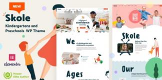 Skole v2.2 - School Kindergarten WordPress Elementor