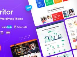 Turitor v1.1.4 - LMS & Education WordPress Theme