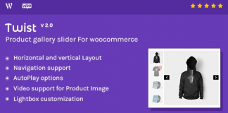 Twist v3.0 - Product Gallery Slider for Woocommerce