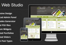 Ultra Web Studio - Blog & Portfolio Wordpress Theme v2.19