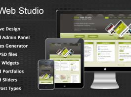 Ultra Web Studio - Blog & Portfolio Wordpress Theme v2.19