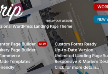 Urip v8.4.4 - Marketing Landing Page
