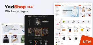 Yozi v2.0.30 - Multipurpose Electronics WooCommerce WordPress Theme