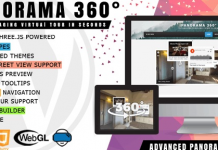 iPanorama 360° - Virtual Tour Builder for WordPress v1.6.4