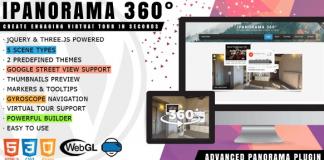 iPanorama 360° - Virtual Tour Builder for WordPress v1.6.4