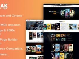AmyMovie v3.4.4 - Movie and Cinema WordPress Theme