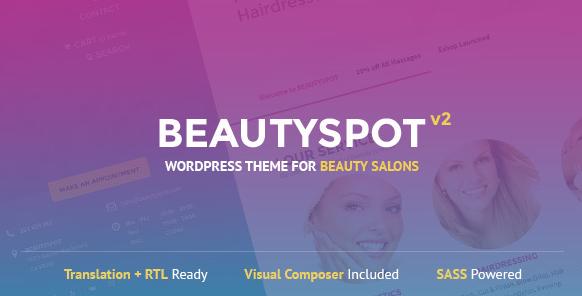 BeautySpot v3.3.8 - WordPress Theme for Beauty Salons