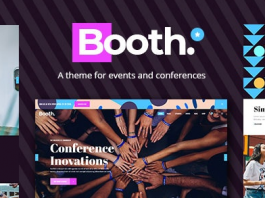 Booth v1.1 - Event and Conference Theme
