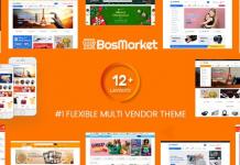 BosMarket v1.8.8 - Flexible Multivendor WooCommerce WordPress Theme (12 Indexes + 2 Mobile Layouts)