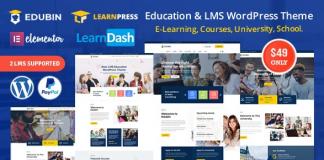 Edubin v6.5.9 - Education LMS WordPress Theme