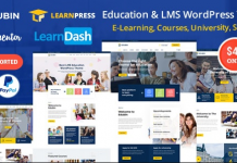 Edubin - Education LMS WordPress Theme v6.6.0