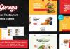 Gloreya v1.6 - Restaurant Fast Food & Delivery WooCommerce Theme