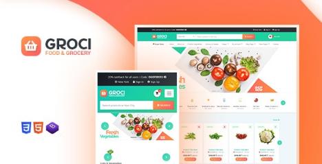 Groci v2.0.5 - Organic Food and Grocery Market WordPress Theme