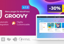 Groovy Mega Menu v2.3.6 - Responsive Mega Menu Plugin for WordPress Nulled
