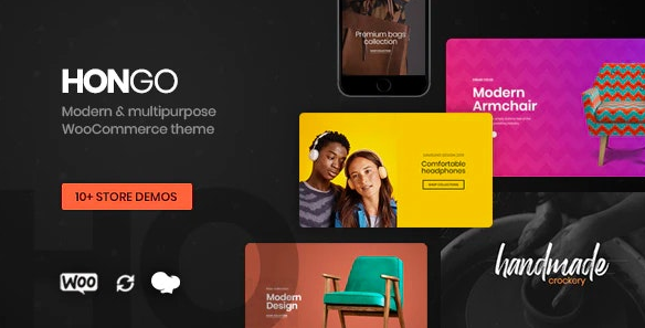 Hongo v1.1.7 - Modern & Multipurpose WooCommerce WordPress Theme