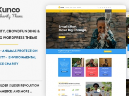Kunco v1.1.0 - Charity & Fundraising WordPress Theme