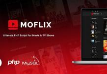 MoFlix v1.0.5 - Ultimate PHP Script For Movie & TV Shows