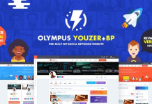 Olympus v3.8 - Powerful BuddyPress Theme for Social Networking