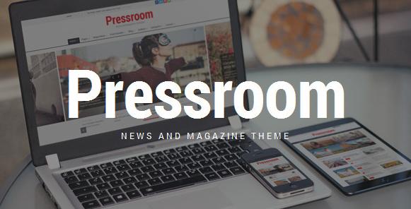 Pressroom v4.9 - News and Magazine WordPress Theme