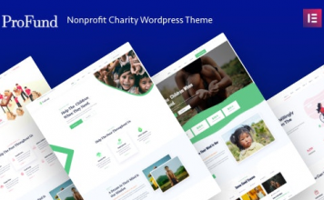 ProFund v3.0.0 - Nonprofit Charity WordPress Theme